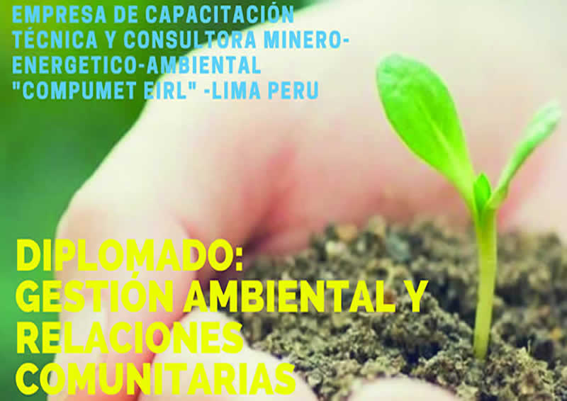 Diplomado en Gestión Ambiental y Relaciones Comunitarias